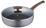 Сковорода глубокая Bergner Eterna Whitford Ø24см с антипригарным покрытием и крышкой