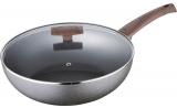 Сковорода-Вок Bergner Eterna Whitford Ø28см з антипригарним покриттям і кришкою