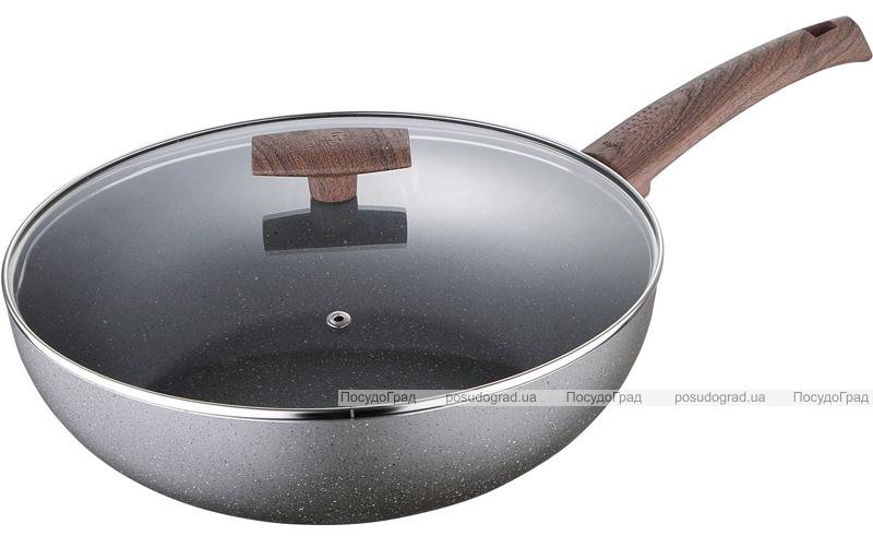 Сковорода-Вок Bergner Eterna Whitford Ø28см с антипригарным покрытием и крышкой