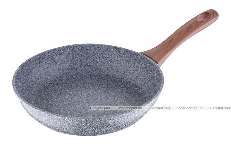 Сковорода Bergner Granito Ø24см алюминиевая с антипригарным покрытием