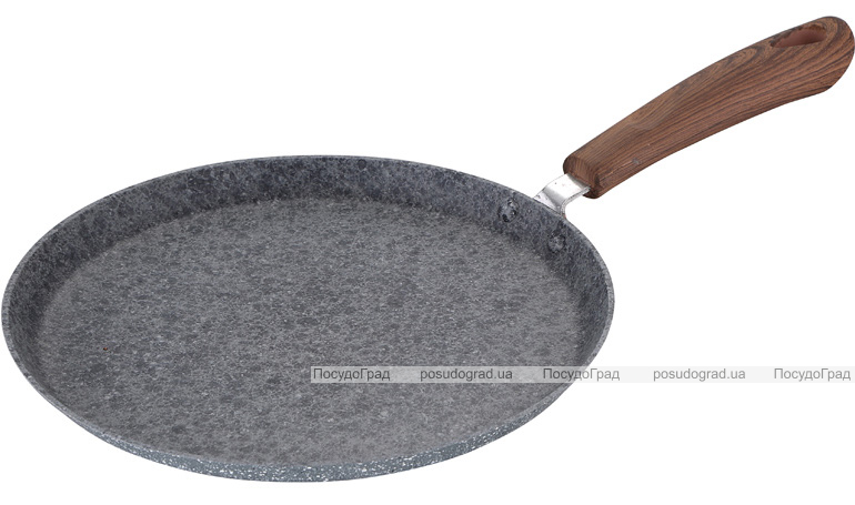 Блинная сковорода Bergner Granito Ø24см алюминиевая с антипригарным покрытием