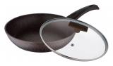 Сковорода Bergner Hallein Ø24см зі скляною кришкою