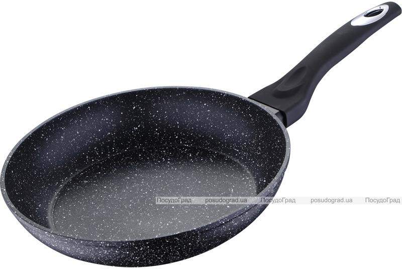 Сковорода Bergner Galaxy Ø32см кований алюміній з антипригарним покриттям Marble+
