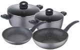 Набір кухонного посуду Bergner ORION 6 предметів з антипригарним покриттям