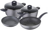 Набор кухонной посуды Bergner ORION 6 предметов с антипригарным покрытием