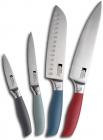 Набір 4 кухонні ножі Bergner Jumpy з нержавіючої сталі