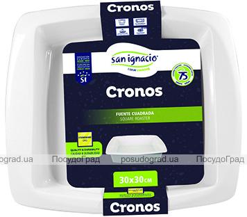 Форма для выпечки Bergner San Ignacio «Cronos» 30х30см керамическая