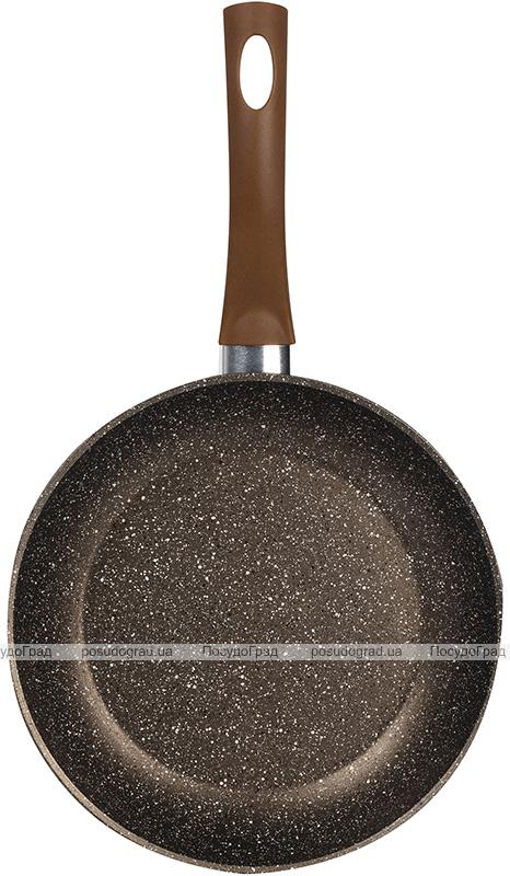 Сковорода Bergner Root Ø28см індукційна з мармуровим антипригарним покриттям