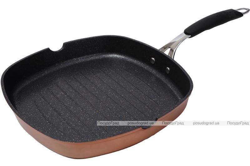 Сковорода-гриль Infinity Chefs 28х28см полная индукция с антипригарным покрытием