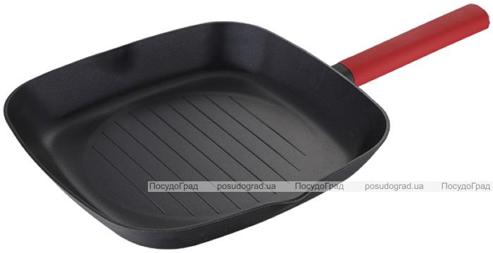 Сковорода-гриль Infinity Chefs Essence 28х28см з антипригарним покриттям QUANTANIUM by Whitford