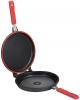 Сковорода-гриль Infinity Chefs Essence Ø26см двойная с антипригарным покрытием QUANTANIUM by Whitford