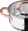 Кастрюля Bergner Infinity Chefs 2.3л со стеклянной крышкой