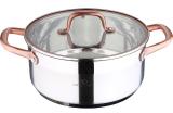Кастрюля Bergner Infinity Chefs 4.5л со стеклянной крышкой