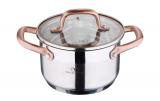 Кастрюля Bergner Infinity Chefs 1.8л со стеклянной крышкой