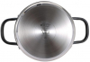Кастрюля Bergner Infinity Chefs Vita 2л из нержавеющей стали, индукционная