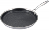 Сковорода для млинців MasterPro Hi-tech3 Ø28см індукційна з антипригарним покриттям