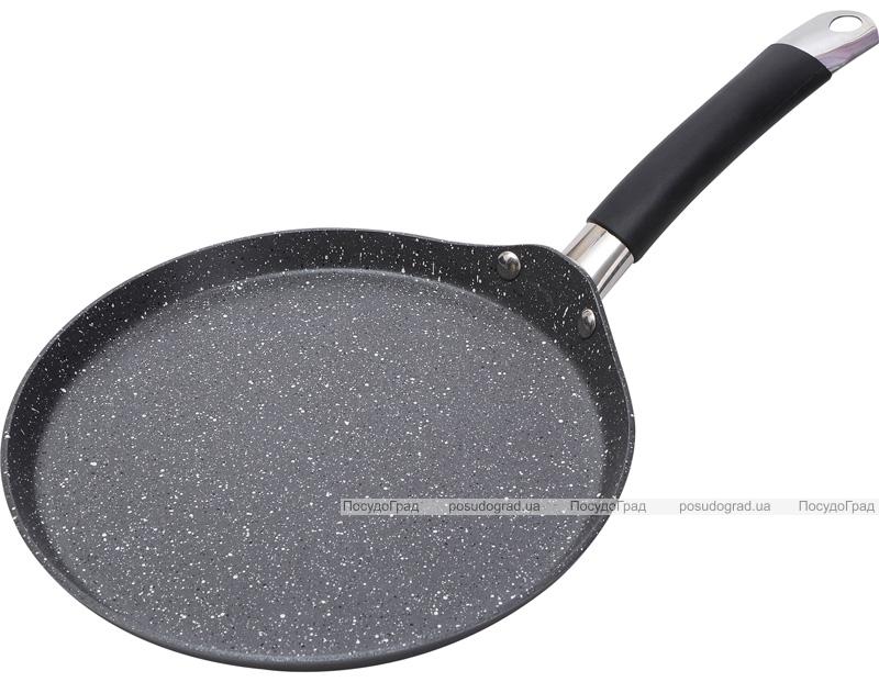 Блинная сковорода Bergner Master Pro Home Edition Ø24см индукционная с крышкой