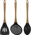 Набір кухонних аксесуарів Bergner Foodies Japan 3 предмети, силікон