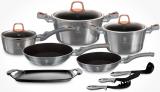 Набір кухонного посуду Berlinger Haus Moonlight Edition 14 предметів