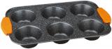 Форма для випічки маффінів Berlinger Haus Granit Diamond 28.5х17.7х3см, мармурове антипригарне покриття