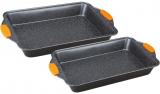 Набор 2 формы для выпечки Berlinger Haus Granit Diamond 40.5x25.5x6см и 36x23x6см