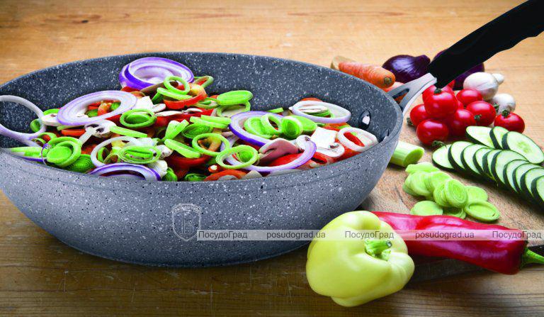 Набор сковород Berlinger Haus Grey Stone Ø20см, Ø24см, сковорода-гриль 28х28см с гранитным покрытием