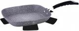 Сковорода-гриль Berlinger Haus Grey Stone 28х28см з гранітним покриттям