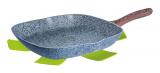 Сковорода-гриль Berlinger Haus Forest Line 28х28см, гранитное антипригарное покрытие