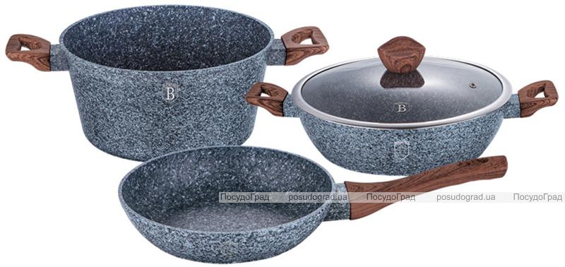 Набор кухонной посуды Berlinger Haus Forest Line 4 предмета, гранитное покрытие