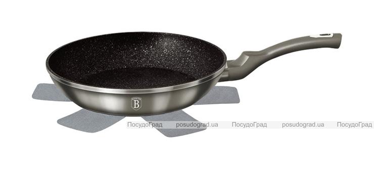 Сковорода Berlinger Haus Carbon Ø24см, мраморное антипригарное покрытие