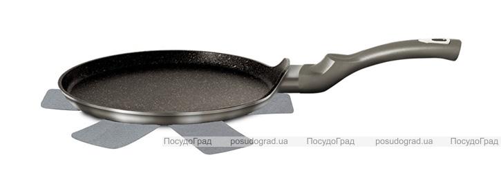 Сковорода блинная Berlinger Haus Carbon Ø25см, мраморное антипригарное покрытие