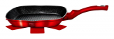 Сковорода-гриль Berlinger Haus Burgundy 28х28х4.1см, мраморное покрытие