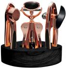 Набор кухонных аксессуаров Berlinger Haus Rose Gold 4 предмета на деревянной подставке