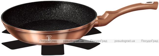 Сковорода Berlinger Haus Rose Gold Ø30см индукционная с антипригарным покрытием