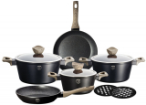 Набор кухонной посуды Berlinger Haus Ebony Maple 10 предметов