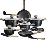 Набор кухонной посуды Berlinger Haus Ebony Maple 15 предметов