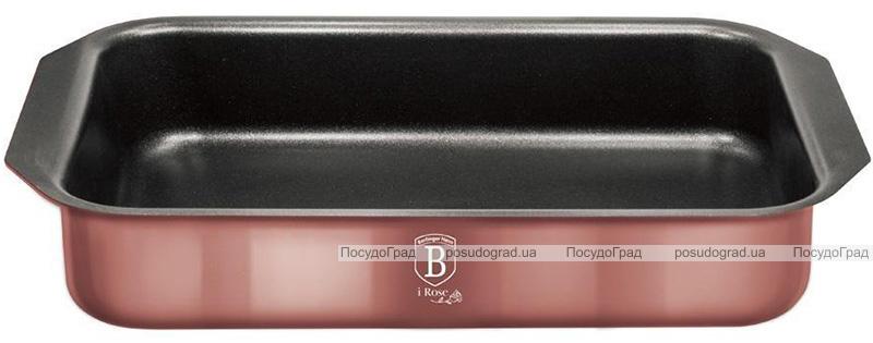 Форма для выпечки Berlinger Haus I-Rose 35х27х6.5см, розовое золото
