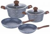 Набор кухонной посуды Berlinger Haus Forest Line 6 предметов, гранитное покрытие