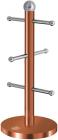 Стійка для 6 чашок Berlinger Haus Rose Gold 15х34см, нержавіюча сталь