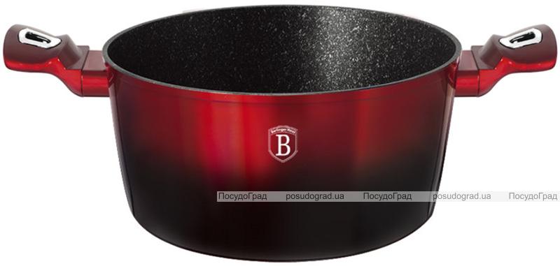 Кастрюля Berlinger Haus Black Burgundy 2.5л, мраморное покрытие