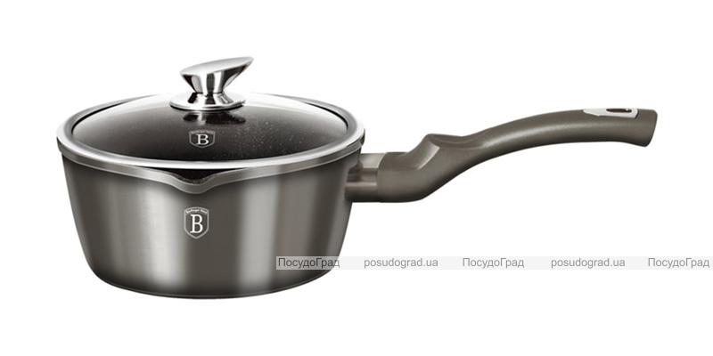 Набор кухонной посуды Berlinger Haus Carbon 12 предметов, мраморное антипригарное покрытие