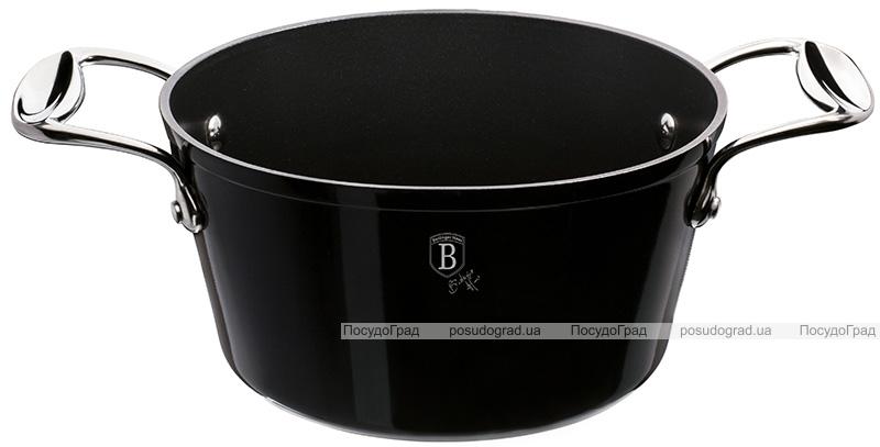Кастрюля Berlinger Haus Black Royal 4.1л, титановое антипригарное покрытие