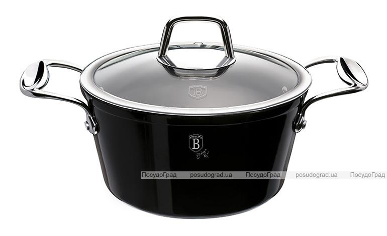 Кастрюля Berlinger Haus Black Royal 2.5л, титановое антипригарное покрытие