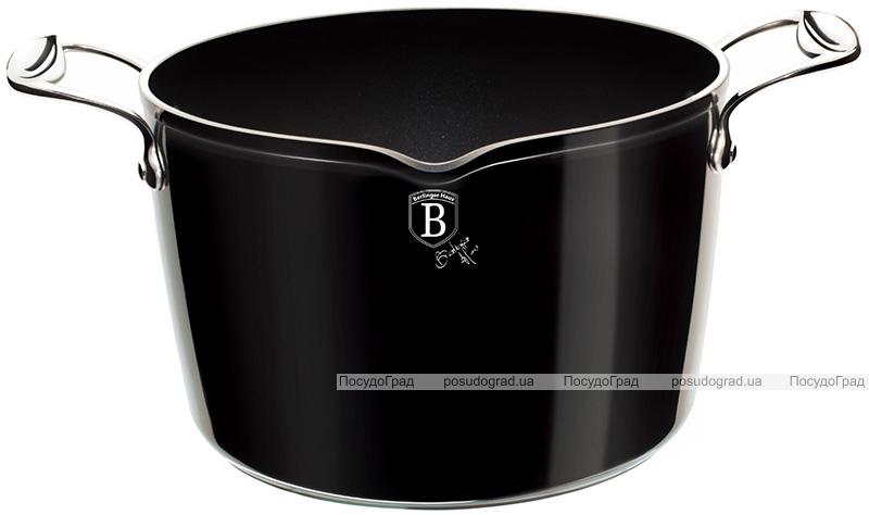 Кастрюля Berlinger Haus Black Royal 6л с крышкой-дуршлагом
