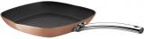 Сковорода-гриль Berlinger Haus Bronze Titan 28х28см с титановым покрытием