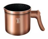 Молочник Berlinger Haus Rose Gold 1л з антипригарним покриттям (кружка-ківш для кип'ятіння молока)