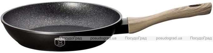 Сковорода Berlinger Haus Ebony Maple Ø28см, мраморное антипригарное покрытие