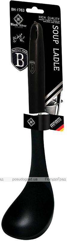 Ополоник Berlinger Haus Black Royal 33см нейлоновий, чорний