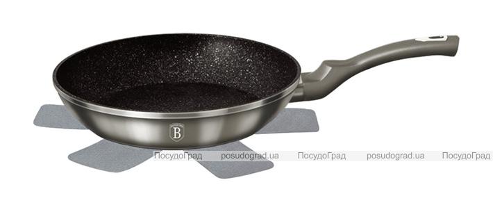 Сковорода Berlinger Haus Carbon Ø26см, мраморное антипригарное покрытие