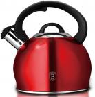 Чайник Berlinger Haus Burgundy 3л зі свистком